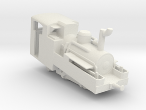 Schynige Platte Bahn h 2/3 no 5  in White Natural Versatile Plastic