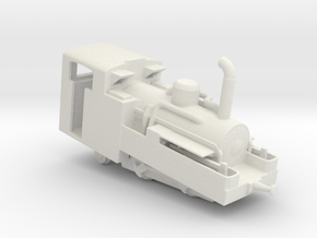 Brienz Rothorn Bahn h 2/3 no1  in White Natural Versatile Plastic
