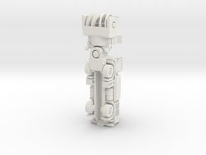 MB4 snow blower rev2 in White Natural Versatile Plastic: 1:160 - N