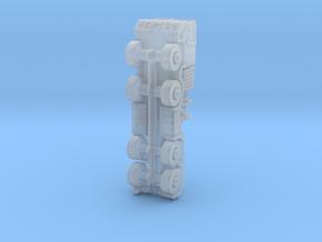 manHX81 8x8 truck in Smoothest Fine Detail Plastic: 1:220 - Z