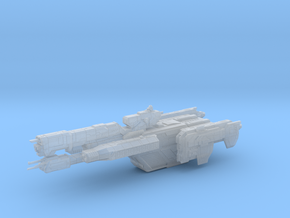 HALO. UNSC Charon Class Frigate 1:3000 in Smooth Fine Detail Plastic