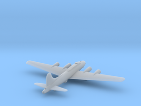 Boeing B17 Flying Fortress - Zscale in Smooth Fine Detail Plastic