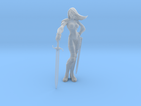 Taarna_200mm in Smooth Fine Detail Plastic