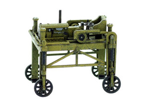 Lumber Straddle Carrier S Scale Model in Smooth Fine Detail Plastic