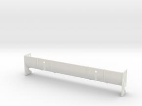 Vizon High Downforce 190mm TC Wing - UPDATED in White Premium Versatile Plastic
