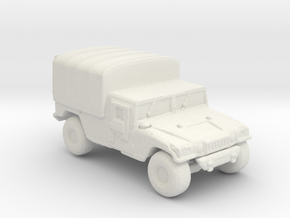 M1038a1 Cargo 220  scale in White Natural Versatile Plastic