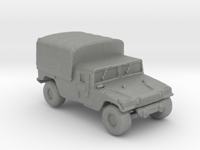 M1038a1 Cargo 220  scale in Gray Professional Plastic
