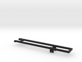 KN24 Mounting frame in Black Natural Versatile Plastic