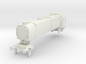 b-87-q1-loco-2-8-0-body in White Natural Versatile Plastic