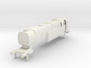 b-87-q1-loco-4-6-2T in White Natural Versatile Plastic