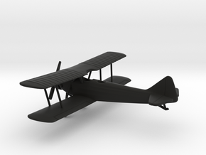 Breda Ba.25 in Black Natural Versatile Plastic: 1:100