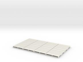 1:18 pallet US x8 in White Natural Versatile Plastic