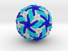 Zika Virus in Natural Full Color Sandstone