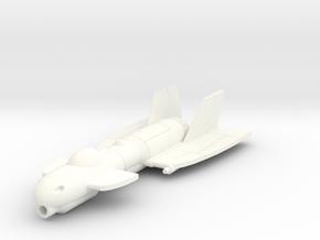 TR10 Transit 1/144 in White Processed Versatile Plastic
