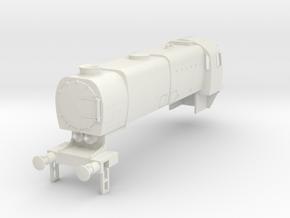 b-100-q1-loco-body in White Natural Versatile Plastic