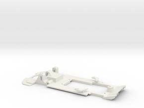 Carrera Universal 132 Sideways LB H GT3 in White Natural Versatile Plastic