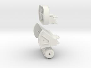 VOSCH attachment set in White Natural Versatile Plastic: 1:50