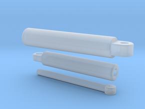 Sennebogen 718 cylinder set 3/3 in Smooth Fine Detail Plastic: 1:50