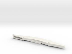 Sennebogen 835-D Banana-Boom 10,8m in White Natural Versatile Plastic: 1:50