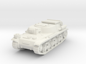 Munitionsschlepper 38 H scale 1/100 in White Natural Versatile Plastic