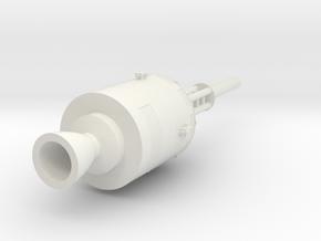 1:288 Saturn V Rocket Stage 4/5 in White Natural Versatile Plastic