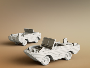 Ford GPA 1942 Amphibious Jeep Scale: 1:144 in Smooth Fine Detail Plastic