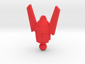 Time Traveler Marvel Acroyear Head in Red Processed Versatile Plastic