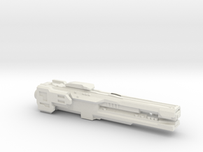UNSC Strident Class Frigate in White Natural Versatile Plastic