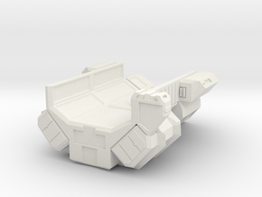 Leekor Repair Corvette in White Natural Versatile Plastic