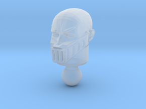 Galactic Defender Baron Karza Unmasked Head in Smooth Fine Detail Plastic