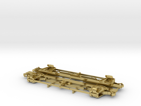 Waycar Running Gear in Natural Brass
