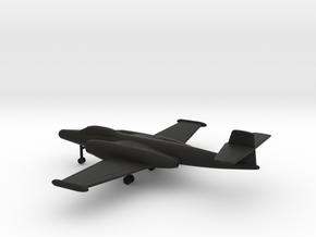 Avro Canada CF-100 Canuck Mk4 in Black Natural Versatile Plastic: 1:200