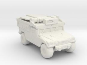 M1097a2 ADS 285 scale in White Natural Versatile Plastic