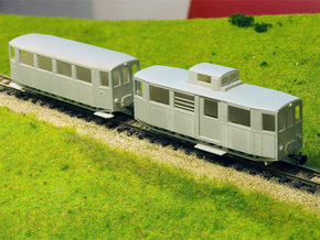 CSD M11.0 Railcar H0e in Smooth Fine Detail Plastic
