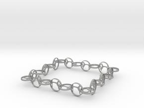 Yoga jewelry bracelet in Aluminum