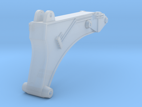 Tunnel boom for 335F excavator in Smooth Fine Detail Plastic