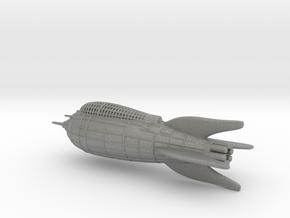 Flash Gordon Rocket Detailed in Gray PA12