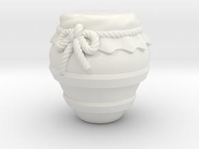 Jar B in White Natural Versatile Plastic