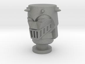 Baron Karza Head For Micro Jeeg in Gray Professional Plastic