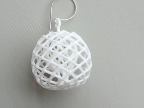 buds earrings in White Strong & Flexible