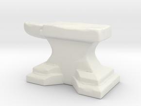 Anvil B in White Natural Versatile Plastic