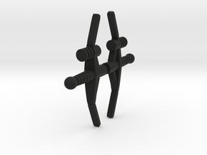 Centaurus Laser Crossbow 2 Pack in Black Natural Versatile Plastic