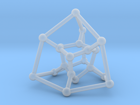 Desargues graph (v. 2) in Smooth Fine Detail Plastic: Small