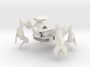 Scarac - Land Station Walker in White Natural Versatile Plastic