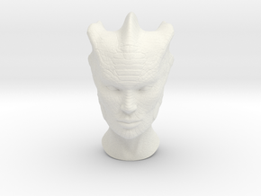 Silurian Variant 1:6 scale in White Natural Versatile Plastic