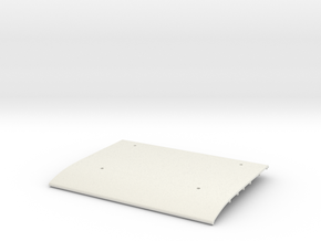 Tamiya Blazing Blazer Main Roof Panel  in White Natural Versatile Plastic