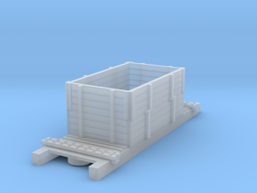 LBB - Gravel wagon - H0f in Smooth Fine Detail Plastic