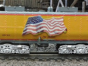 UP Water Tender N Scale 1:160 Jim Adams  in Frosted Ultra Detail