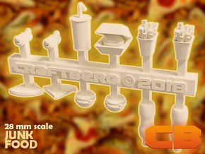 CB Junkfood S* 28mm in Smoothest Fine Detail Plastic