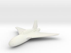 (1:144) Henschel Hs P.130  in White Natural Versatile Plastic